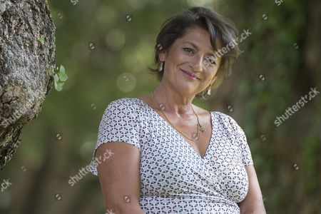 Dutch Actress Annet Malherbe Poses During a Photocall For the Movie 'Schneider Vs Bax' at the 68th Locarno International Film Festival in Locarno Switzerland 08 August 2015 the Festival Runs From 05 to 15 August