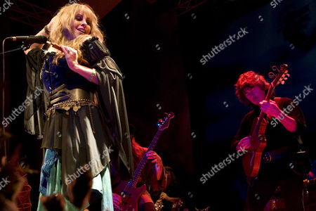 Candice Night and Former Deep Purple guitarist Ritchie Blackmore