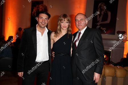Roger Cicero, Heike Makatsch and Hanns Zichler