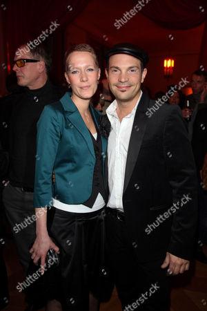 Roger Cicero and girlfriend Kathrin Clasen