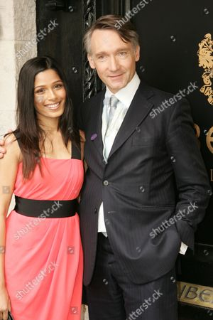 Editorial image of Freida Pinto Official Re-Opening of Liberty, after a month- long refurbishment, Great Marlborough Street, London, Britain   - 15 Feb 2009