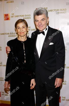 Richard Benjamin and wife Paula Prentiss