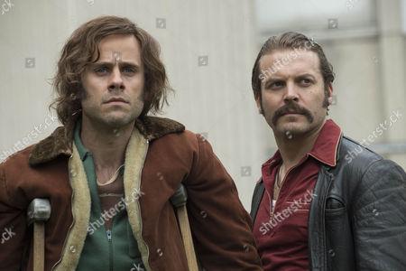 Lex Shrapnel as John Bentley and Jay Taylor as David Bentley.