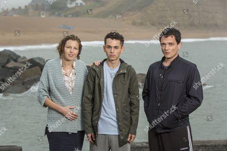 Episode 5 - Deon Williams as Michael Lucas, Becky Brunning as Lindsay Lucas and Sebastian Armesto as Clive Lucas.