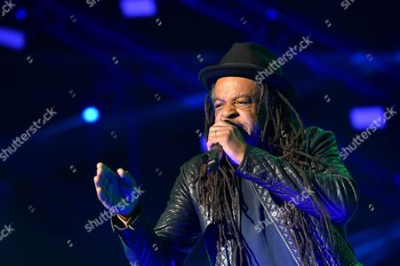 Terence 'Astro' Wilson of British Reggae/pop Band Ub40 Performs on Stage at the Life Festival in Oswiecim Poland 20 June 2015 Poland Oswiecim