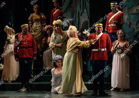 Editorial image of 'Patience', English Touring Opera, Hackney Empire, London, UK - 07 Mar 2017