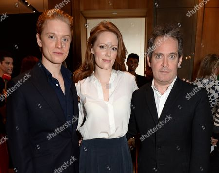 Freddie Fox, Clare Foster and Tom Hollander