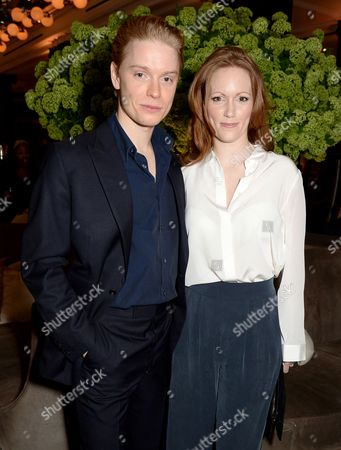 Freddie Fox and Clare Foster