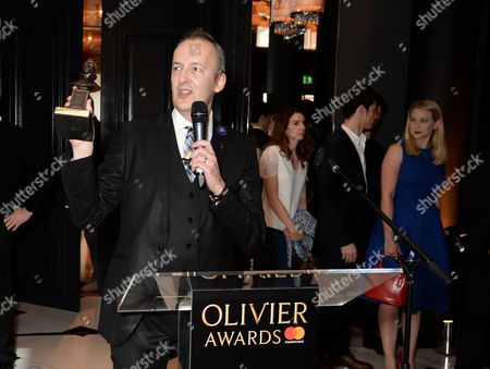 Editorial photo of The Olivier Awards nominees luncheon at Rosewood Hotel, London, UK - 10 Mar 2017
