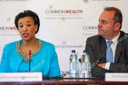 Commonwealth Secretary-General The Rt Hon Baroness Patricia Scotland QC and The Hon Christian Cardona of Malta