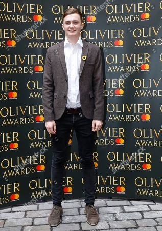 Ben Hunter arrives for the the Olivier Awards nominees luncheon in London