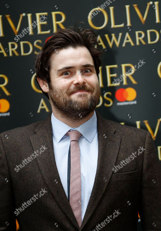 David Fynn arrives for the the Olivier Awards nominees luncheon in London