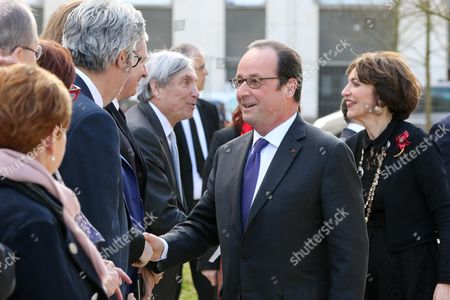 Francois Hollande and Marisol Touraine