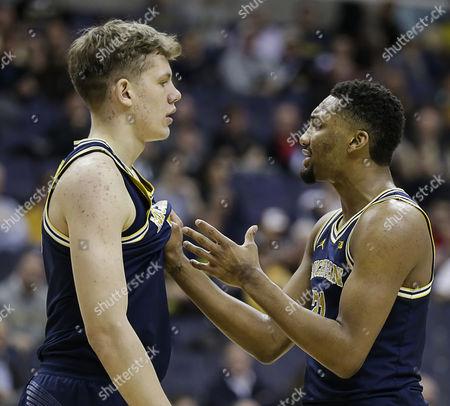 Editorial image of Big 10 Men's Basketball Tournament Purdue vs. Michigan, Washington Dc, USA - 10 Mar 2017