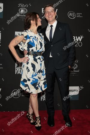 Stock Image of Filmmaker Jeff Nichols and his wife Missy