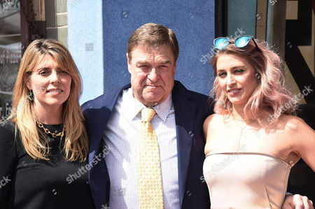 Stock Picture of Anna Beth Goodman, John Goodman with Daughter Molly