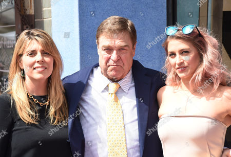 Stock Photo of Anna Beth Goodman, John Goodman with Daughter Molly