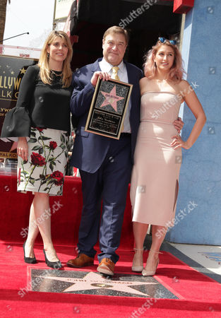Editorial photo of John Goodman honored with star on The Hollywood Walk of Fame, Los Angeles, USA - 10 Mar 2017