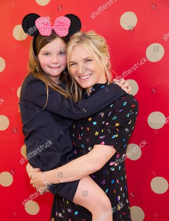 Stock Photo of Coco Whiley-Morton & Jo Whiley