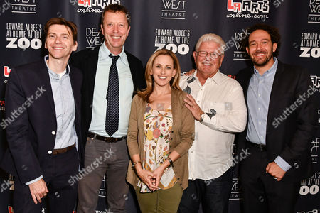 Stock Image of Coy Middlebrooke, Paul Crewes, Marlee Maitlin, Ed Waterstreet and DJ Kurs