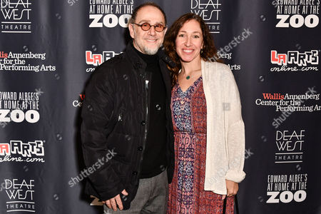 Editorial image of 'At Home at the Zoo' play, Arrivals, The Wallis Annenberg Center for the Performing Arts, Los Angeles, USA - 10 Mar 2017