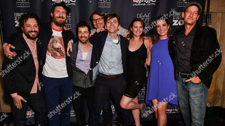 Editorial photo of 'At Home at the Zoo' play, After Party, The Wallis Annenberg Center for the Performing Arts, Los Angeles, USA - 10 Mar 2017