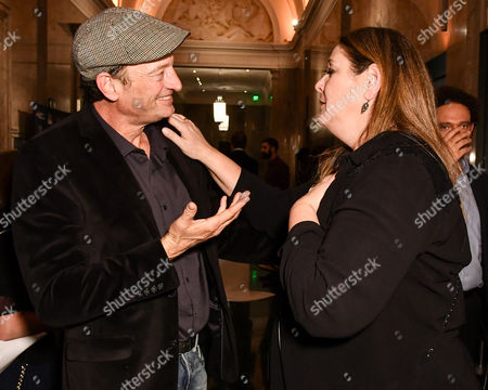 Stock Image of Russell Harvard and Camryn Manheim
