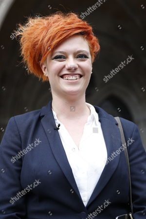 Food blogger Jack Monroe leaves the High Court. Jack Monroe has won her claim for libel damages after 'serious harm' was caused over tweets from the Daily Mail columnist Katie Hopkins.