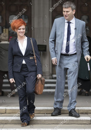 Food blogger Jack Monroe leaves the High Court with her solicitor Mark Lewis. Jack Monroe has won £24,000 in her claim for libel damages after 'serious harm' was caused over tweets from the Daily Mail columnist Katie Hopkins - who also has to pay £24,000 in costs.