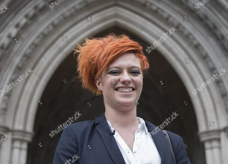 Food blogger Jack Monroe leaves the High Court. Jack Monroe has won £24,000 in her claim for libel damages after 'serious harm' was caused over tweets from the Daily Mail columnist Katie Hopkins - who also has to pay £24,000 in costs.