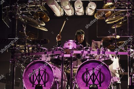 Stock Photo of Drummer Mike Mangini - Dream Theater