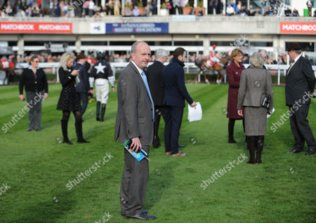Sandown Park Racecourse Clerk of the Course Andrew Cooper.