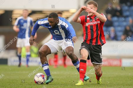 Editorial picture of Chesterfield v Shrewsbury Town, EFL Sky Bet League 1 - 11 Mar 2017