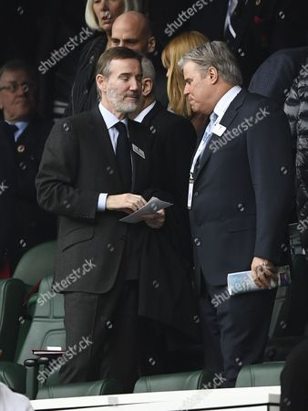 ITV Chief Executive Adam Crozier during the RBS 6 Nations match between England and Scotland played at Twickenham Stadium, London on 11th March 2017