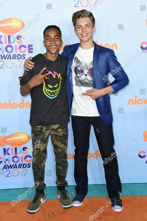 Editorial image of Nickelodeon Kids' Choice Awards, Arrivals, Los Angeles, USA - 11 Mar 2017