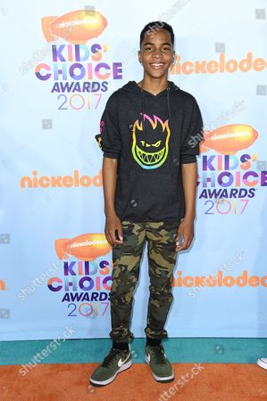 Editorial picture of Nickelodeon Kids' Choice Awards, Arrivals, Los Angeles, USA - 11 Mar 2017