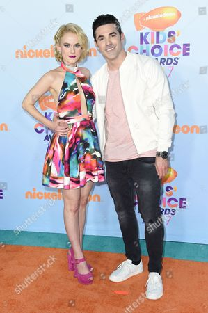 Stock Image of Carlie Craig and Josh Server