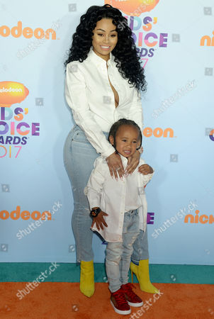 Blac Chyna and King Cairo Stevenson