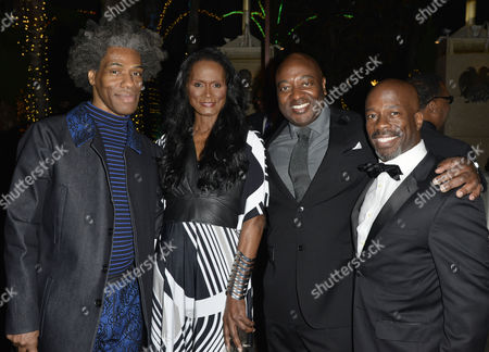 Stock Photo of Douglas Says, Tracey Norman, Steven Littles, Parnell Damone Marcano