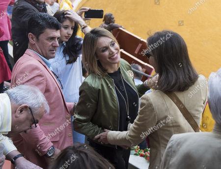 Cristina Sanchez and Isabel Preysler
