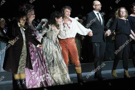 Doris Soffel, Anja Harteros, Jonas Kaufmann, Philipp Stölzl