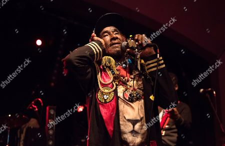 Editorial photo of Lee Scratch Perry in concert at The Classic Grand, Glasgow, Scotland, UK - 12 Mar 2017