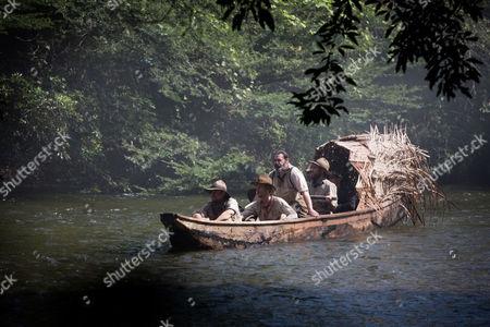 Charlie Hunnam, Edward Ashley, Angu Macfadyen, Robert Pattinson