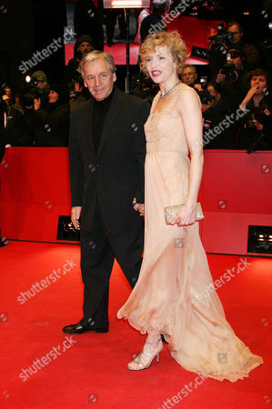 Director Constantin Costa-Gavras and actress Juliane Koehler