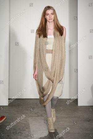 Editorial picture of VPL Victoria Bartlett Fashion Show, Autumn / Winter 2009 Mercedes-Benz Fashion Week, New York, America - 14 Feb 2009