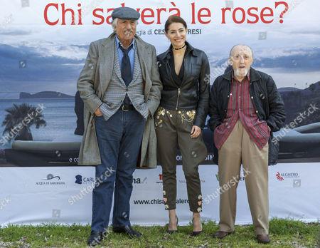 Stock Photo of Lando Buzzanca, Caterina Murino and Carlo Delle Piane
