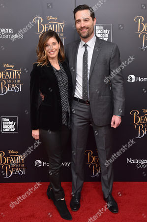 Editorial picture of 'Beauty and the Beast' film premiere, Arrivals, New York, USA - 13 Mar 2017