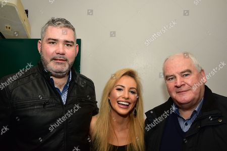 Stock Image of Aiden Quinn, Cliona Hagan and Kevin MacCooey