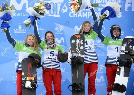Chloe Trespeuch, Nelly Moenne-Loccoz, Charlotte Bankes and Manon Petit