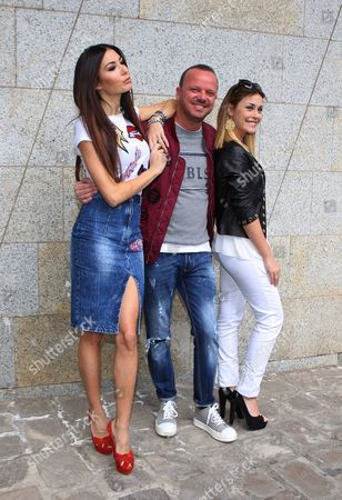 Elisabetta Gregoraci, Gigi D'Alessio, Fatima Trotta